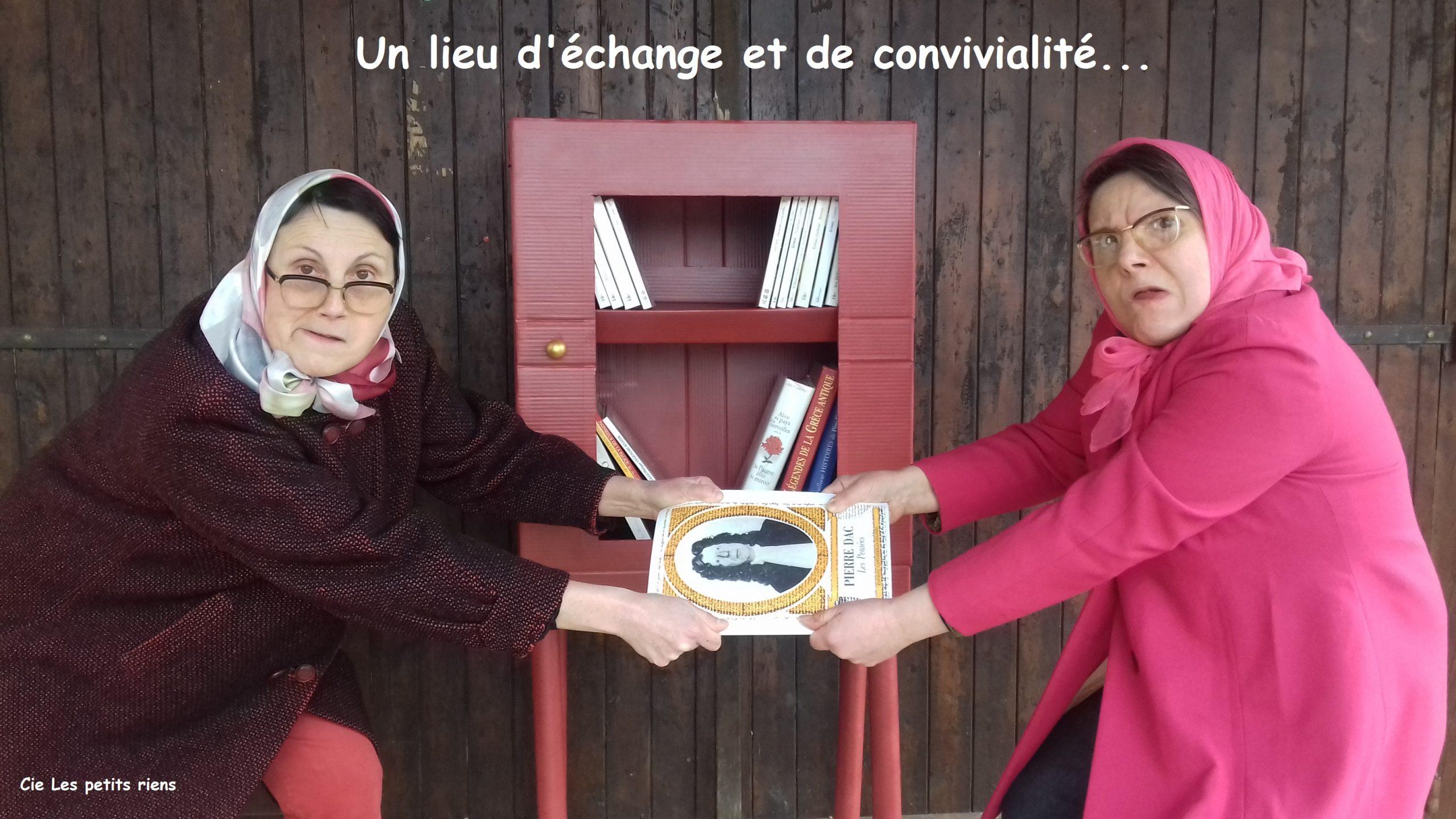 Expo inauguration boîte à livres